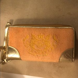 Juicy Couture Orange Terry Cloth Wallet/Wristlet